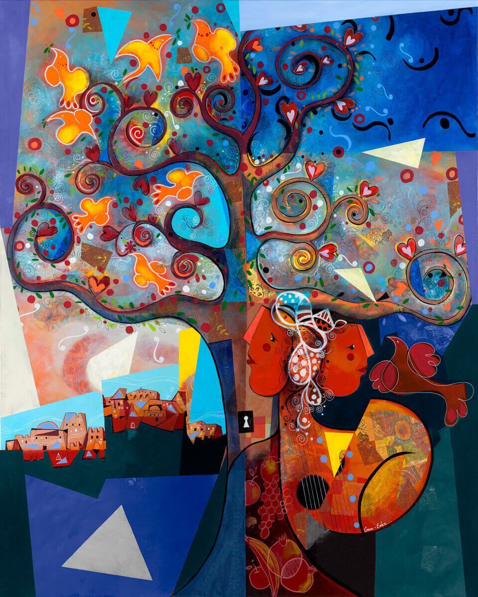 Yoel Benharrouche – Gan Eden – Eden Fine Art Gallery