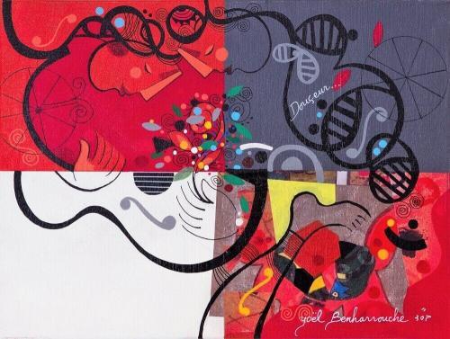 0d8d25385600 Yoel Benharrouche – Gan Eden – Eden Fine Art Gallery