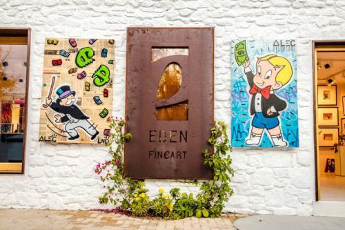 Alec Monopoly Mykonos Exhibition